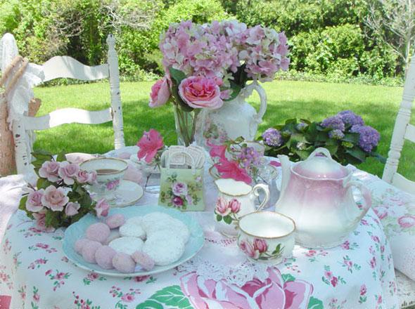 Victorian Garden Tea Room Menu